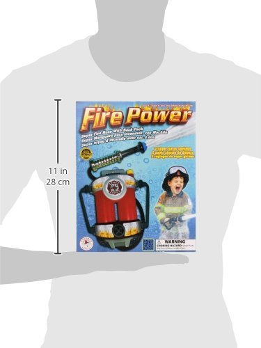 41352Ai9QeL - Aeromax Fire Power Super Fire Hose with Backpack