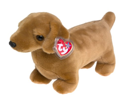 Ty Beanie Buddies Weenie - Dachshund Dog