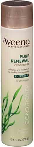 Aveeno Pure Renewal Conditioner, Sulfate-Free, 10.5 Fl. Oz (Pack of 2)