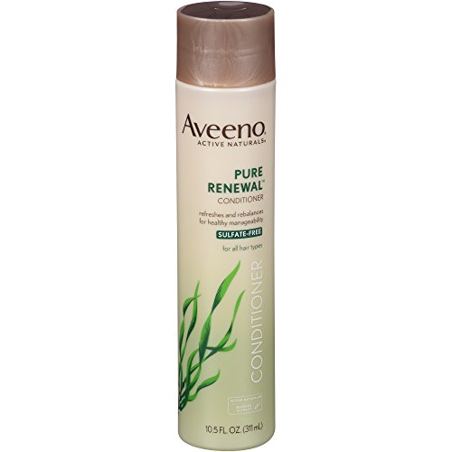 Aveeno Pure Renewal Conditioner, Sulfate-Free, 10.5 Fl. Oz (Pack of 2)