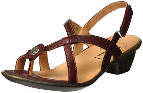 Think! Women's Nanet Wedge Heels Sandals Red (Rosso/Kombi 72) RolikE9GL