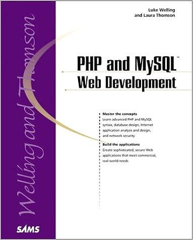 Php Mysql Web Development Book