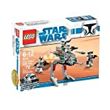 'LEGO Star Wars Clone Walker Battle Pack (8014) (Discontinued by manufacturer)' from the web at 'https://images-na.ssl-images-amazon.com/images/I/41353NK08XL._SL160_.jpg'