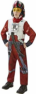 Rubies Star Wars VII X Wing Fighter Pilot Deluxe Costume - Large, Multi Color