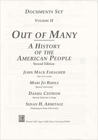 Free txt ebook download Out of Many: A History of the American People : Documents Set PDF ePub iBook by John Mack Faragher