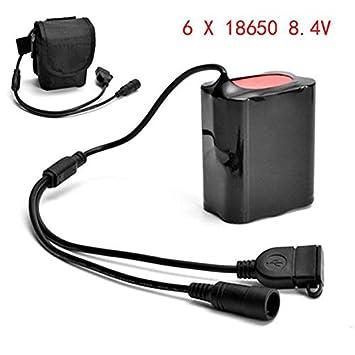 Amazon.com: Paquete de batería recargable USB de 8.4 V ...