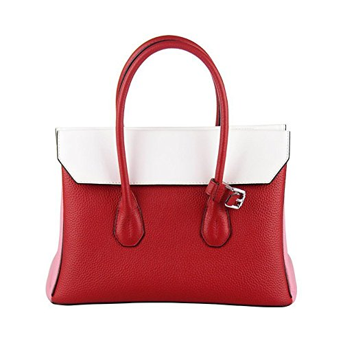 Gules Bag Leather Crossbody Women's Otomoll Fashion Handbag Shoulder Handmade PgxqIwv8F