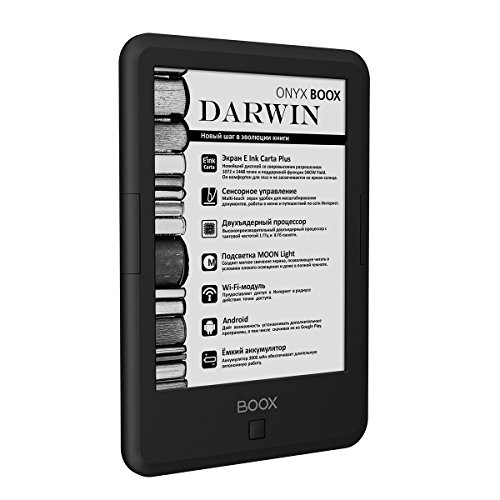Onyx BOOX Darwin 3 eBook Reader with microSD Card Slot and Supported formats: TXT, HTML, RTF, FB2, FB2.Zip, MOBI, CHM, PDB, DOC, DOCX, PRC, EPUB Graphic: JPG, PNG, GIF, BMP,PDF and DjVu