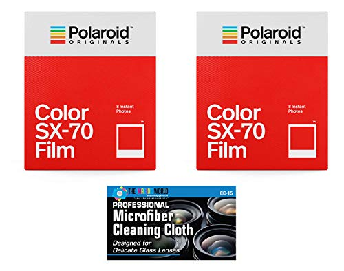 Papel Fotografico Glossy Para Camaras Polaroid Sx70 - (x16)