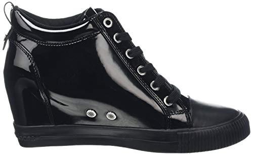 Collo Patent Klein Donna A Sneaker black Ritzy Alto Nero 000 Calvin UwgxqEXWU