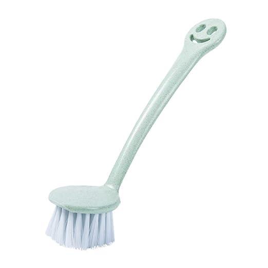 TAOtTAO - Cepillo de limpieza de plástico con pajita de trigo ...