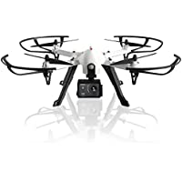 F100 Ghost RC Quadcopter Drone with 1080p HD Camera for Men & Women, Brushless Motors, 2 BONUS Batteries, LED Lights, Remote Control Drones, Sports Action & Selfie Camera for Sharper Aerial Image!