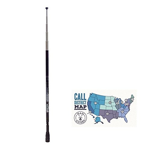 - Bundle - 2 Items - Diamond HT tele ant, 95-300mhz, 300-1100mhz SMA and Ham Guides TM Pocket Reference Card