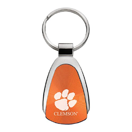 Keychain Clemson (LXG, Inc. Clemson University - Teardrop Keychain - Orange)