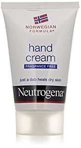 Neutrogena Norwegian Formula Hand Cream, Fragrance-Free, 2 Ounce (Pack of 2)
