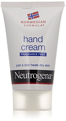 Neutrogena Norwegian Formula Moisturizing Hand Cream Formulated with Glycerin for Dry, Rough Hands, Fragrance-Free Intensive Hand Cream, 2 oz (Pack of 2)