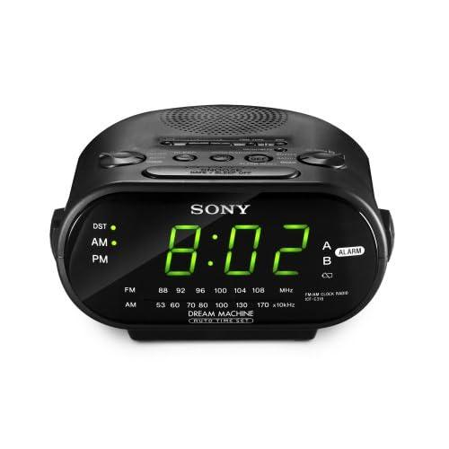 Sony ICF-C318 Clock Radio with Dual Alarm...