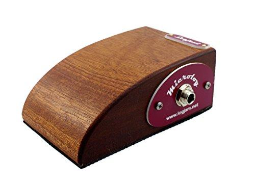 The New Logarhythm Microlog Pocket Size Percussion Stompbox by Log Jam