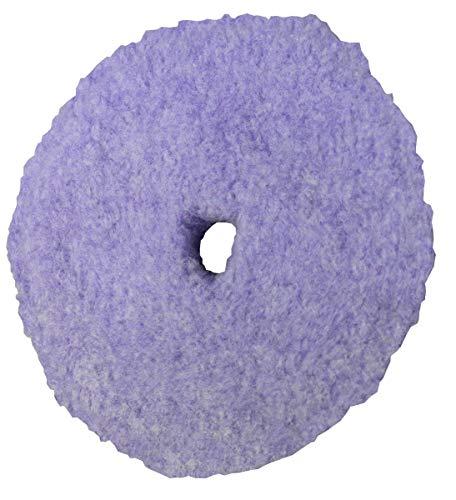 PACE 3.5 in. Purple Foamed Wool Heavy Cut Pad (4/Pack)