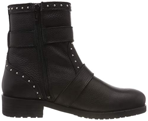 Black Wool Pavement Femme Silje 020 020 Noir Bottines Leather HHq1EY