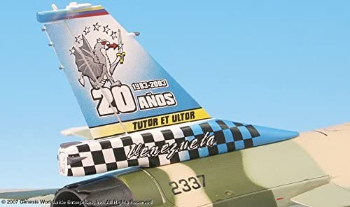 F-16B Fighting Falcon Venezuelan AF 1:72 Scale Die-cast Metal Model by Witty Wings