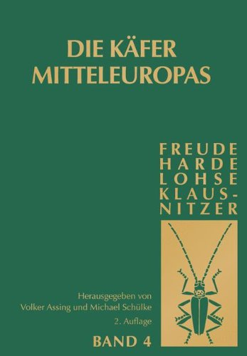 Die Käfer Mitteleuropas, Bd. 4: Staphylinidae (exklusive Aleocharinae, Pselaphinae und Scydmaeninae)
