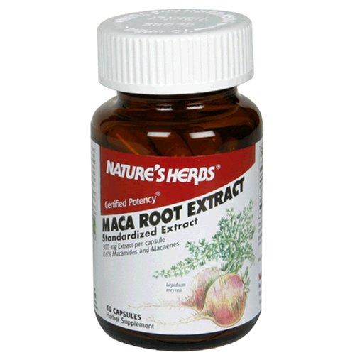Twinlab Nature Extrait herbes racine de Maca, 60 Capsules (pack de 2)