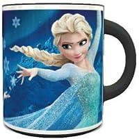 Ceramic Heat Sensitive Magic Coffee Mug with Frozen Elsa Design