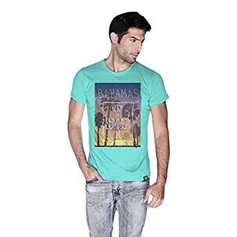 Creo Bahamas Beach T-Shirt For Men - S, Green
