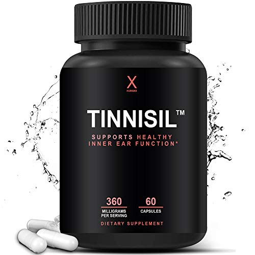Tinnisil – Tinnitus Supplement – Calm Ear Formula – Ear Ringing – Ring Ease – Supports Healthy Inner Ear and Circulatory…