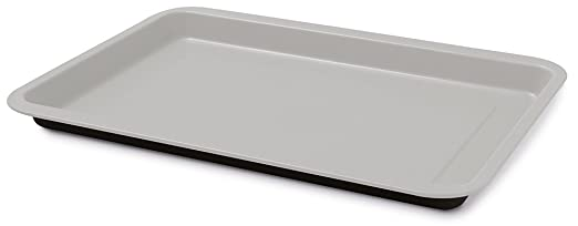 2 opinioni per Guardini Silver Elegance Teglia Rettangolare, Acciaio, Argento, 26x37x2.6 cm