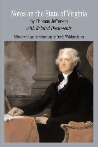 Notes on the State of Virginia: with Related Documents (Bedford Series in History & Culture (Paperback))