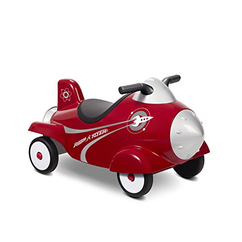 Radio Flyer Retro Rocket Ride On (Plastic Flyer Radio Storage)