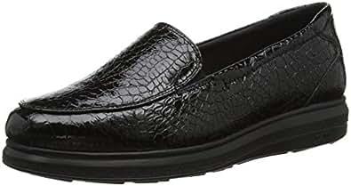 24 HORAS 23730, Mocasines para Mujer, (Negro 7), 37 EU: Amazon.es: Zapatos y complementos