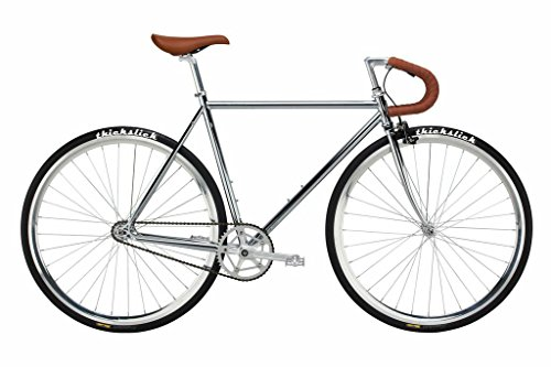 Find a Pure Fix Premium Fixed Gear Single Speed Bicycle, 58cm/ Large, Harding Chrome