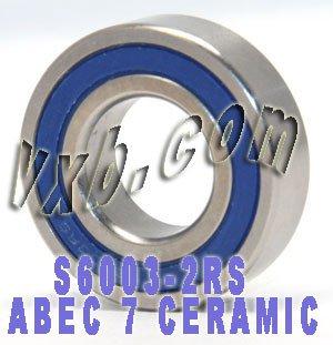 S6003 Bearing Si3N4 Ceramic Stainless Steel Open Premium ABEC-5 17x35x10 13032