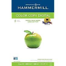 Hammermill Paper, Color Copy, 32lb, 11 x 17, Ledger, 100 Bright, 500 Sheet / 1 Ream (102660)