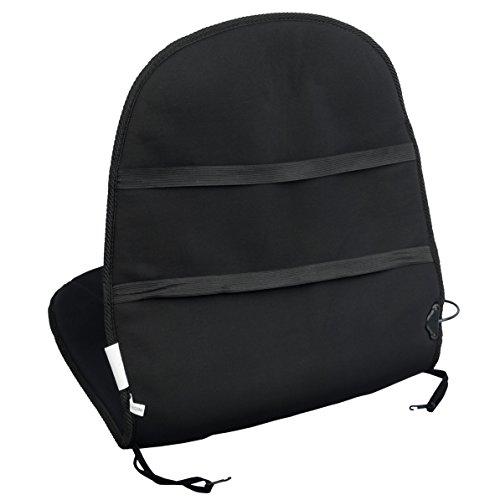 Wagan IN9738 Black 12V Heated Seat Cushion (Lastest