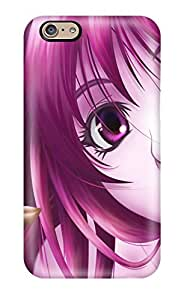 Fashion Tpu Case For Iphone 6- Anime Girl 147 Defender Case Cover