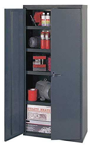 Edsal Welded Vault Cabinet - 36in.W x 24in.D x 72in.H, Model# VC362472