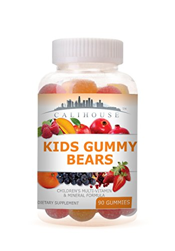 Cheap Calihouse Kids Complete Multivitamins with Mineral Gummy Bear 90 Counts