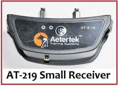 Spare Parts (remote,receiver,strap,antenna,charger,prongs) for Aetertek Waterproof Rechargeable Trainer Training Shock Collar System AT-216, AT-219, AT-918, AT-919 (Replacement AT-219 receiver)