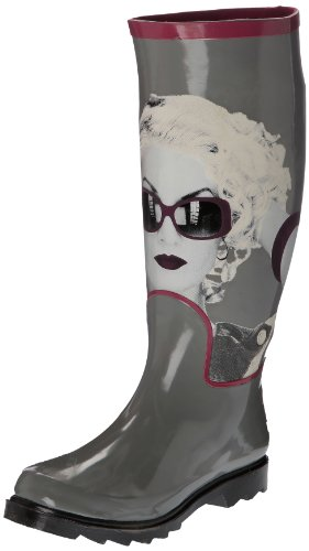 de Botas Gris Only caucho mujer Gris Be Marylyn wBzxtqz4