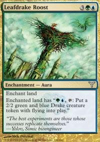 Magic: the Gathering - Leafdrake Roost - Dissension - Foil