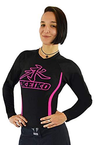 Rashguard Speed Manga Longa Keiko Sports Mulheres P Preto