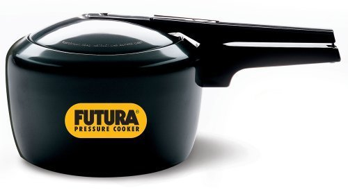 Futura by Hawkins Hard Anodized 3.0 Litre Pressure Cooker from Hawkins by A&J Distributors, Inc.