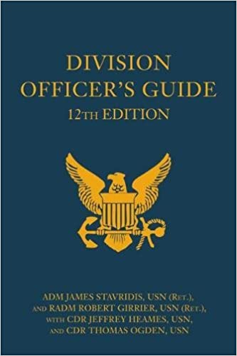Division Officer's Guide, 12th Edition (Blue & Gold Professional Series)