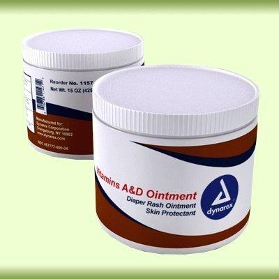 Vitamin A&D Ointment, 15 oz. jar, 12/Case