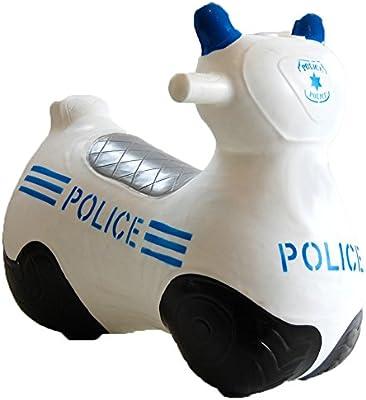 Inglés de la canción foco LED doble para bicicleta Hopperz diseño con motivos circulares de modelo usado por la policía - funda con el tamaño perfecto salir a correr o ir 12
