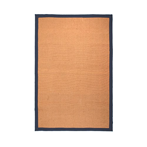 Jute Rug Border (Superior Natural Classic Collection Hand Woven Jute Rug)